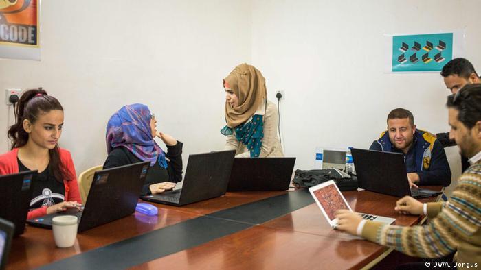 Irak IT-Hilfe für Flüchtlinge