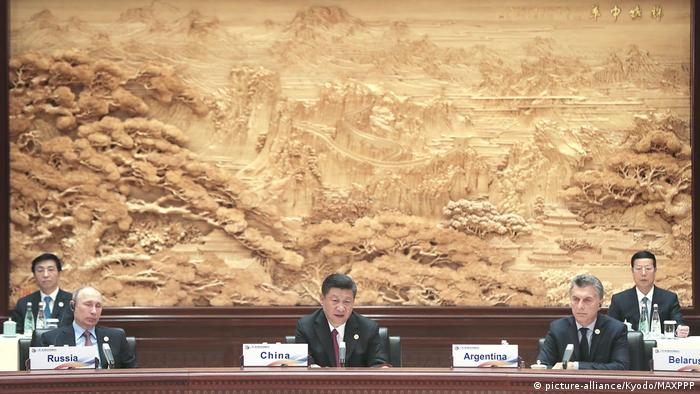China, cumbre de la Ruta de la Seda (picture-alliance/Kyodo/MAXPPP)
