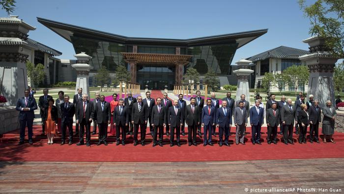 China Gipfel zur neue Seidenstraße (picture-alliance/AP Photo/N. Han Guan)