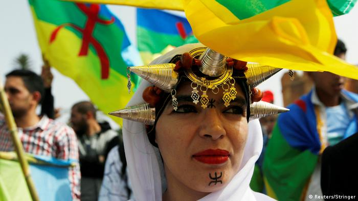 Marokko Demo der Amazigh in Rabat (Reuters/Stringer)