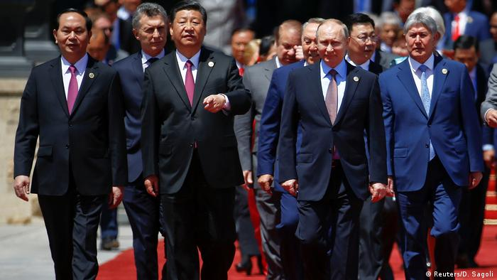 China Gipfel Neue Seidenstraße in Peking (Reuters/D. Sagoli)