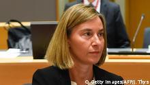 Belgien EU Außenministertreffen Federica Mogherini