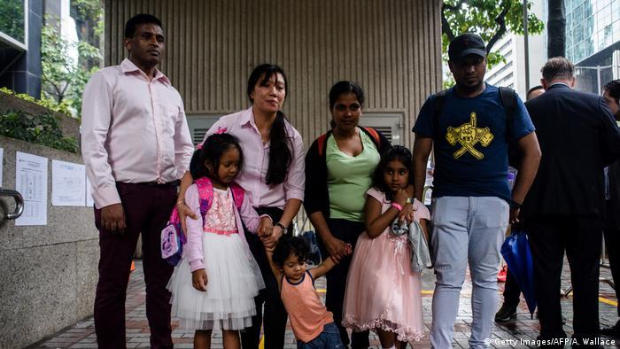 Hongkong Flüchlinge die Edward Snowden geholfen