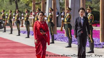 China Seidenstraßen-Gipfel Aung San Suu Kyi