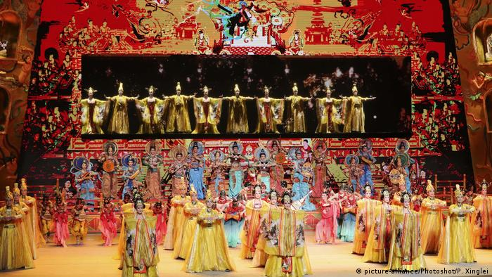 A colorful performance at the Belt and Road Forum two years ago