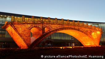 China Seidenstraßen-Gipfel Silk Road and Golden Bridge