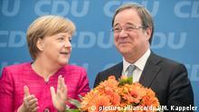 Deutschland CDU zur Landtagswahl in Nordrhein-Westfalen