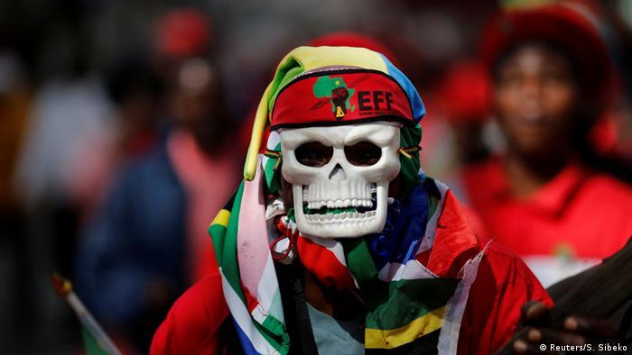 Südafrika Protest gegen Jacob Zuma in Johannesburg