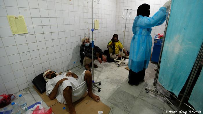Jemen Cholera (Getty Images/M.Huwais)