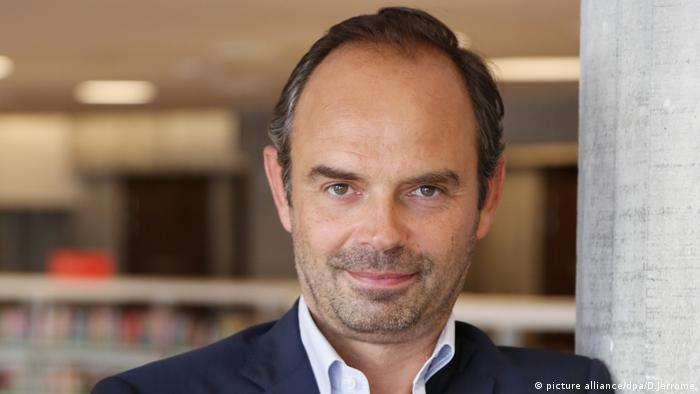 Edouard Philippe Premierminister Frankreich (picture alliance/dpa/D.Jerrome)