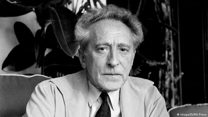 Schwarz-weiß Porträt von Jean Cocteau von 1959. (Foto: Imago/ZUMA Press)