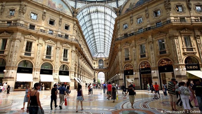 Galleria Vittorio Emanuele II in Milan (Getty Images/V. Z. Celotto)