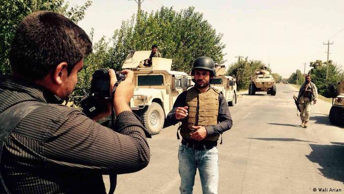 Afghanischer Journalist Wali Arian