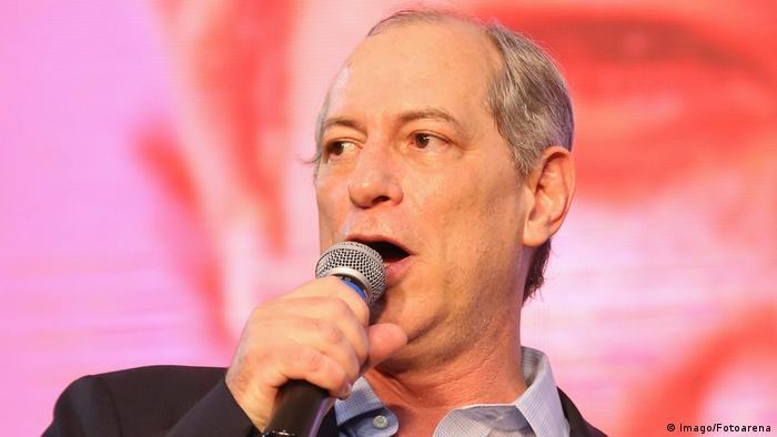 O ex-governador e ex-ministro Ciro Gomes, candidato à Presidência