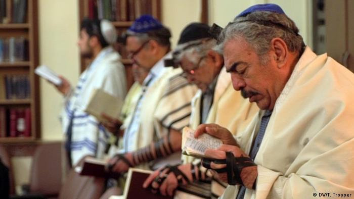یهودیان ایرانی در حال نیایش