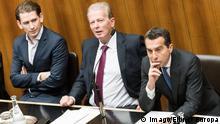 Österreich Wien - Nationalratssitzung Sitzung des Nationalrates mit Sebastian Kurz, Christian Kern und Reinhold Mitterlehner