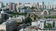Ukraine Stadtpanorama in Kiew