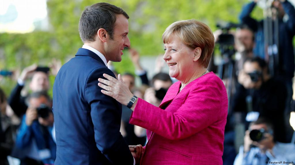 Angela Merkel And Germany Congratulate Emmanuel Macron On En Marche Election Victory News Dw 12 06 2017