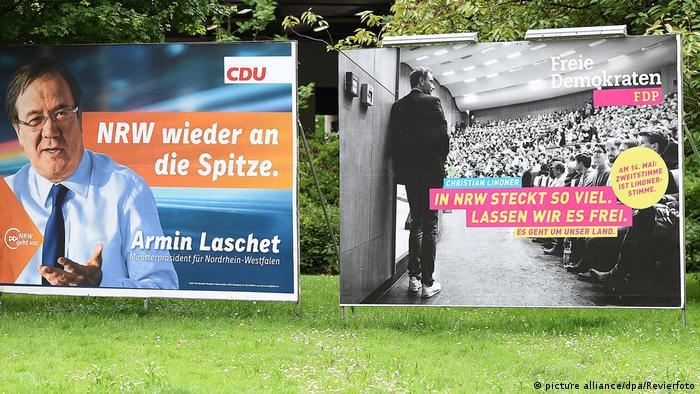 Deutschland Christian Lindner und Armin Laschet