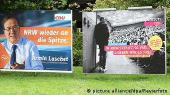 German campaign posters (picture alliance/dpa/Revierfoto)