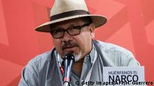 Murdered journalist Javier Valdez (Getty Images/AFP/H. Guerrero)