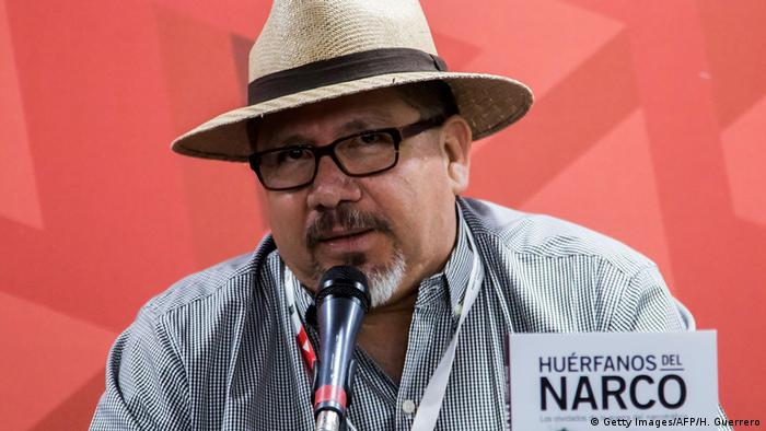 Mexiko Javier Valdez in Culiacan erschossen (Getty Images/AFP/H. Guerrero)