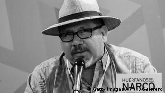 El periodista mexicano Javier Valdez.