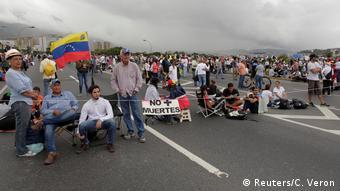 Venezuela Erneut Proteste gegen die Regierung
