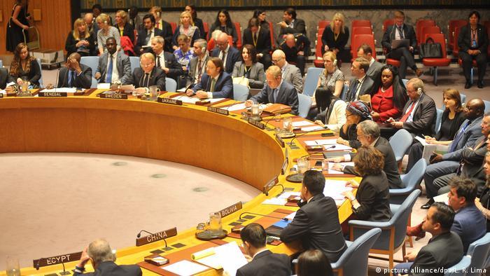Reunião do Conselho de Segurança da ONU