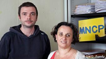 Paris Politikaktivisten Bernard Aznar Claire Pauchet