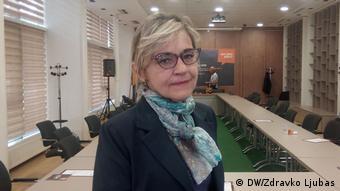 Bosnien Hautkrebsforschung Dr. Maja Banjin (DW/Zdravko Ljubas)
