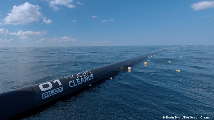The Ocean Cleanup Pressebild