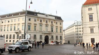 Cancillería en Viena.