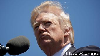 USA Donald Trump beim National Peace Officers Memorial Service in Washington