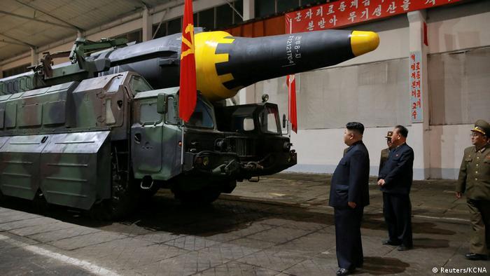 O progresso militar da Coreia do Norte