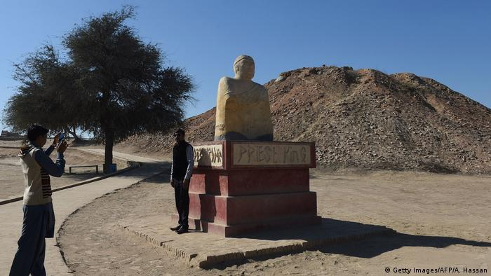 Pakistan antike Stadt Mohenjo Daro (Getty Images/AFP/A. Hassan)
