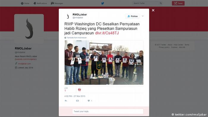Screenshot Twitter Akun Resmi RMOLJabar (twitter.com/rmoljabar)