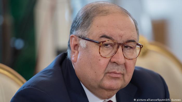 Alischer Usmanow (picture-alliance/Sputnik/S. Guneev)