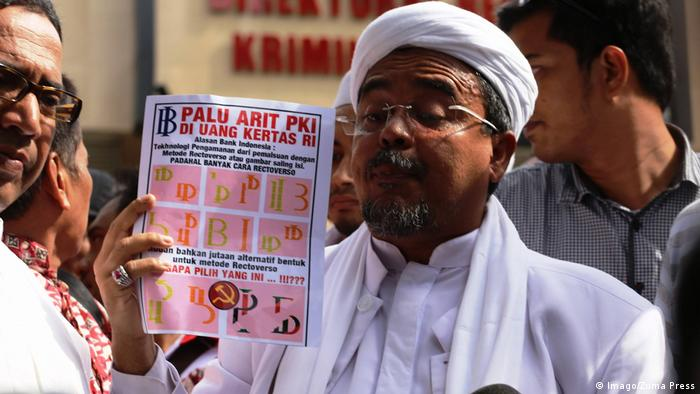 Indonesien Habib Rizieq Shihab, FPI (Imago/Zuma Press)