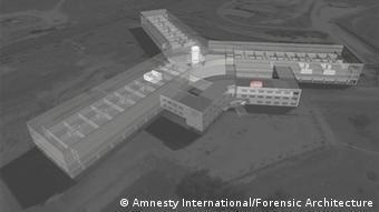 An Amnesty impression of Syria's Sednaya jail and crematorium