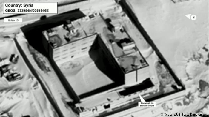 Syrien Sadnaya Satellitenbild Sadnaya Gefängnis