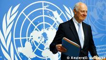 Genf Syrien Gespräche Staffan de Mistura