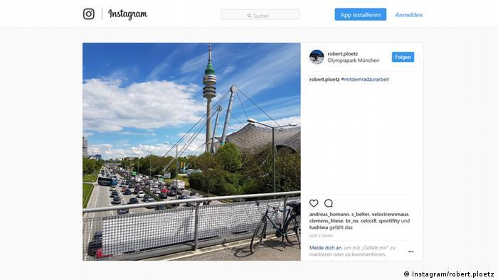 Screenshot Instagram Account robert.ploetz