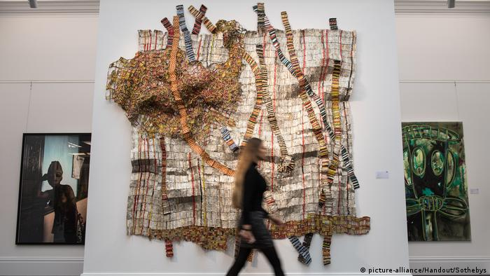 'Earth Developing More Roots' by El Anatsui