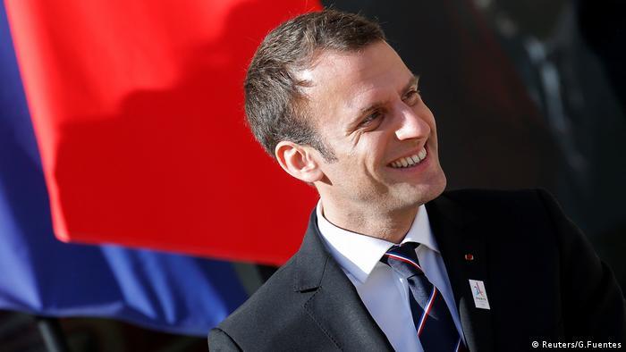 Emmanuel Macron Paris