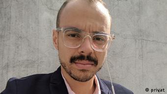 Diego Alarcón, editor de la plataforma Pacifista, de Vice Colombia