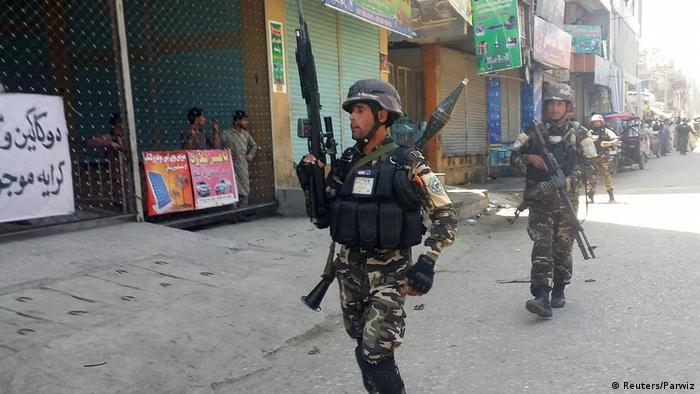 Afghanistan Angriff auf der staatlichen Radio-und Fernsehsender RTA (Reuters/Parwiz)