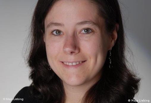 Maja Liebing, experta de Amnistía Internacional Alemania para las Américas.