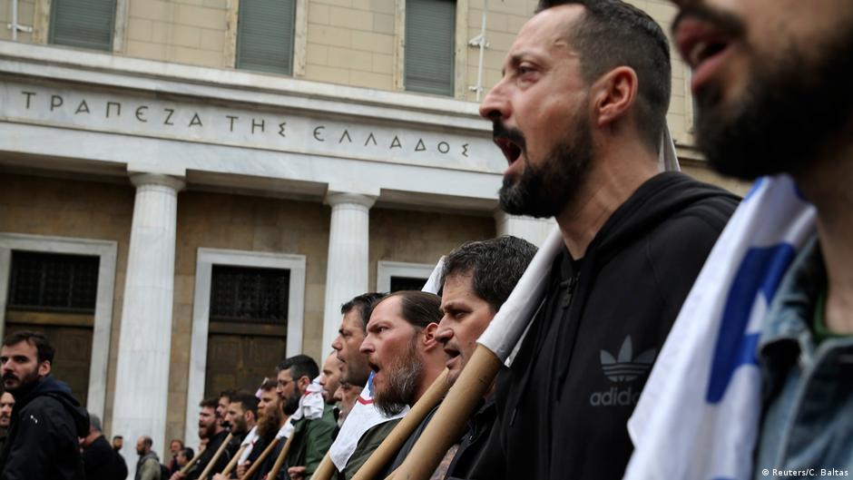 Грците протестираат  Ципрас е оптимист