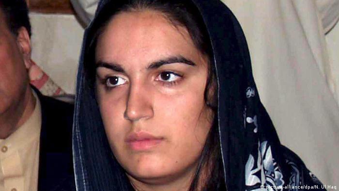 Pakistan Bakhtawar Zardari (picture-alliance/dpa/N. Ul Haq)